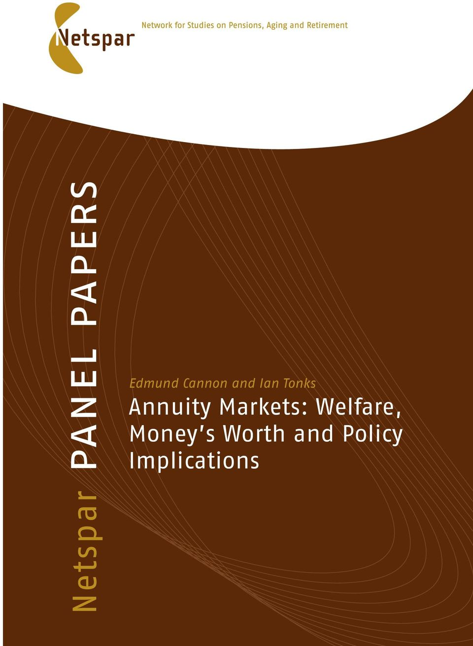 Annuity Markets: Welfare,