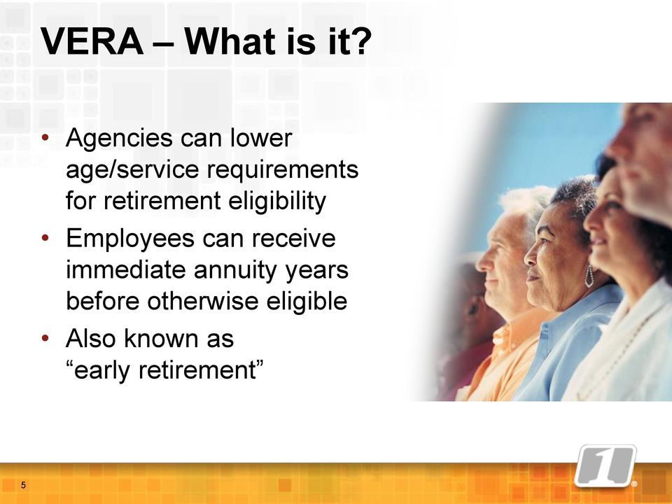 retirement eligibility Employees can receive