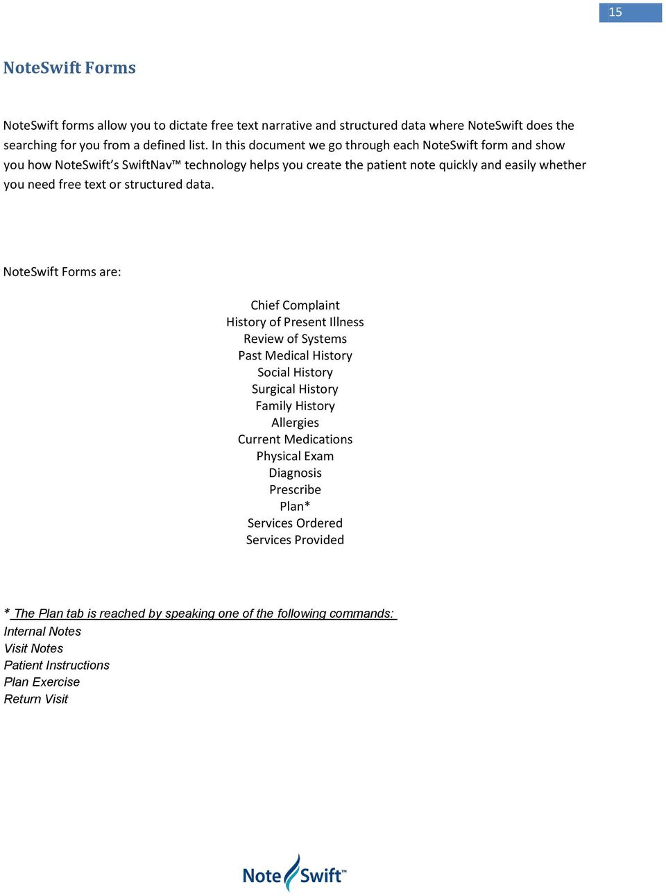 Medical Chief Complaint Form