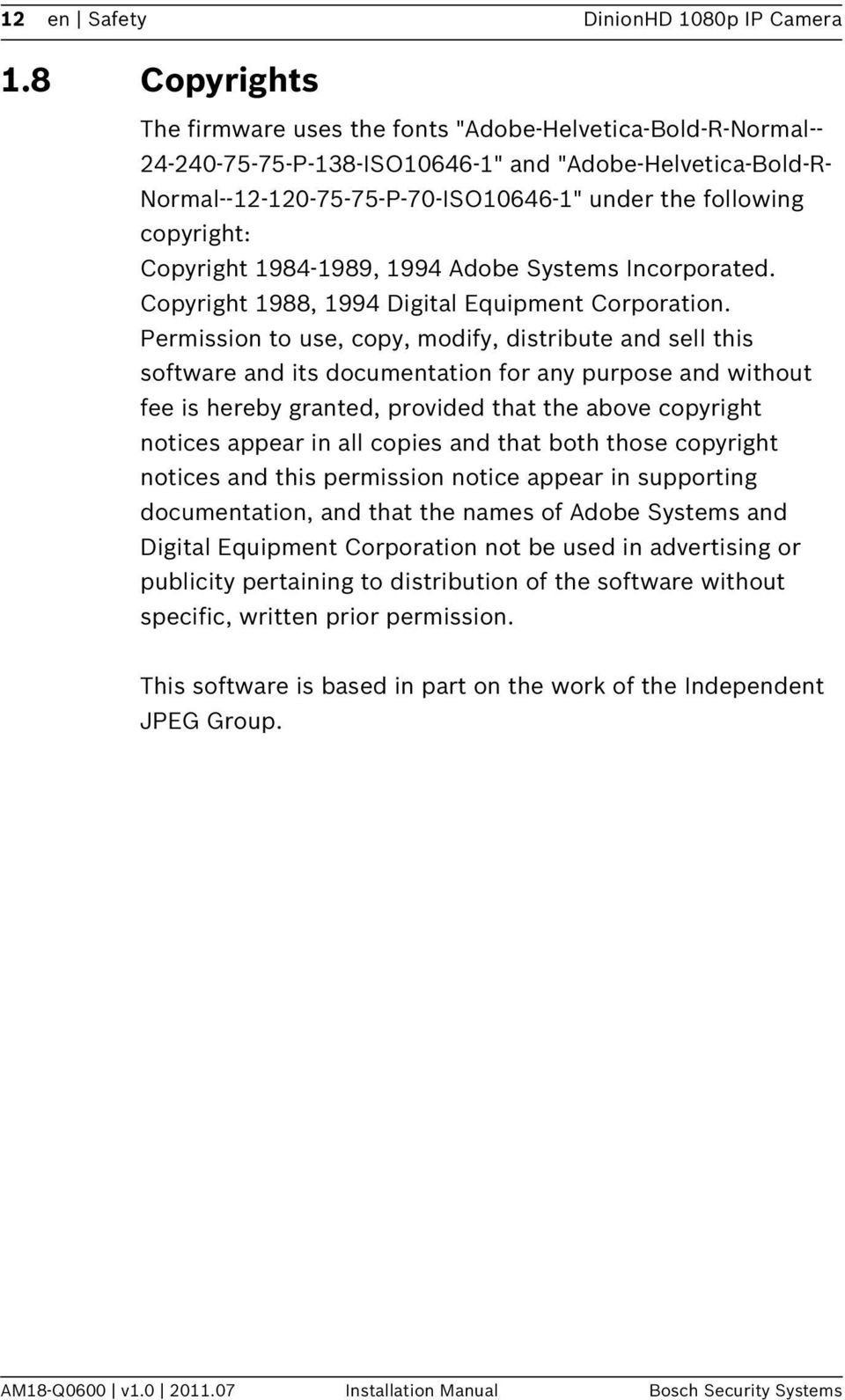 copyright: Copyright 1984-1989, 1994 Adobe Systems Incorporated. Copyright 1988, 1994 Digital Equipment Corporation.