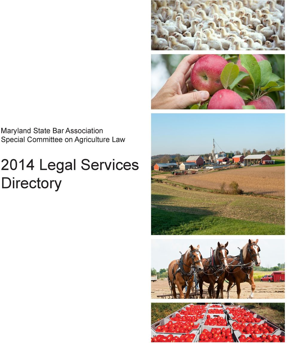 Agriculture Law 2014