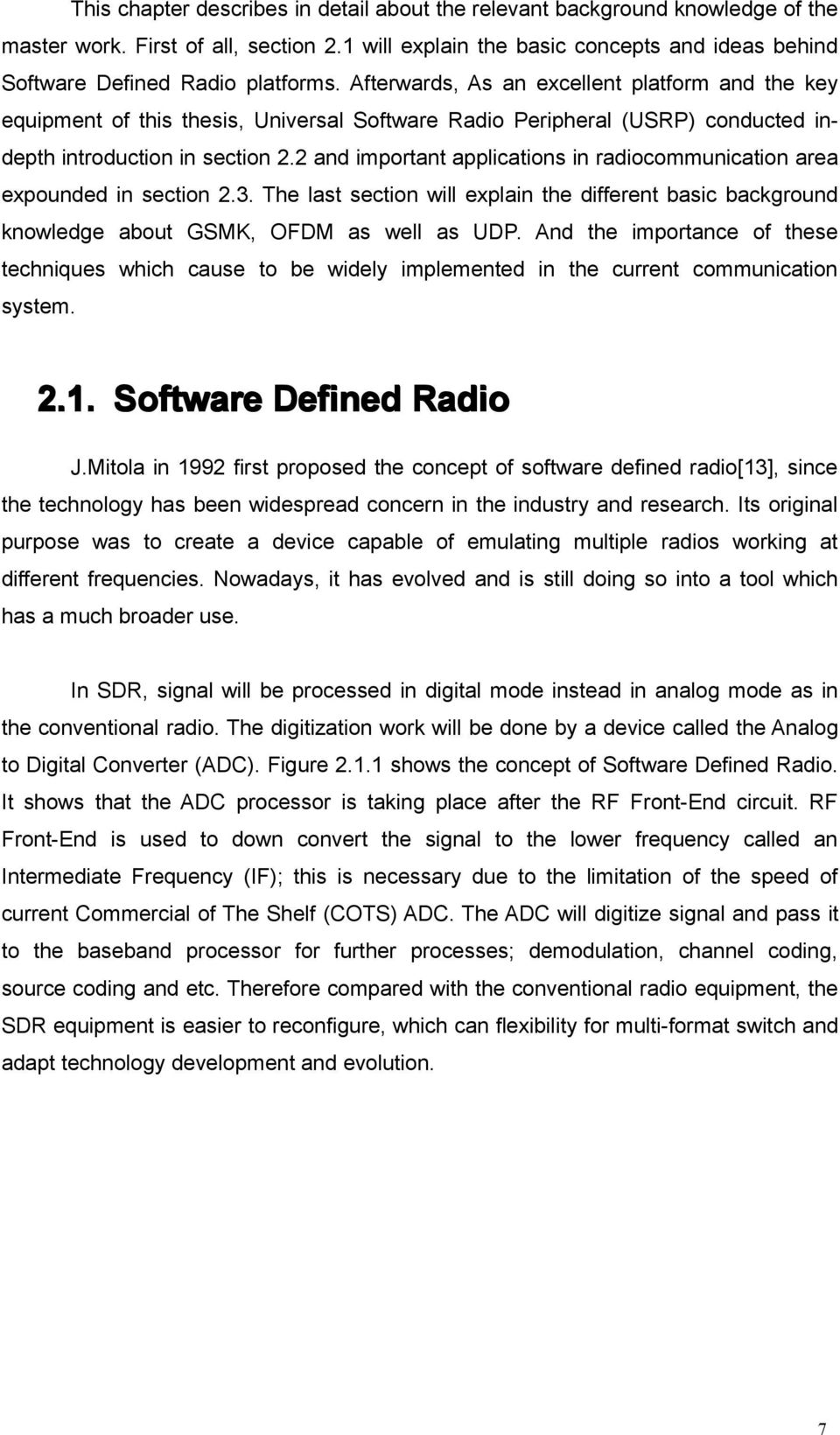 proposal for thesis in signal processing formet Proposal for a master of science degree program in electrical engineering university of the district of columbia.