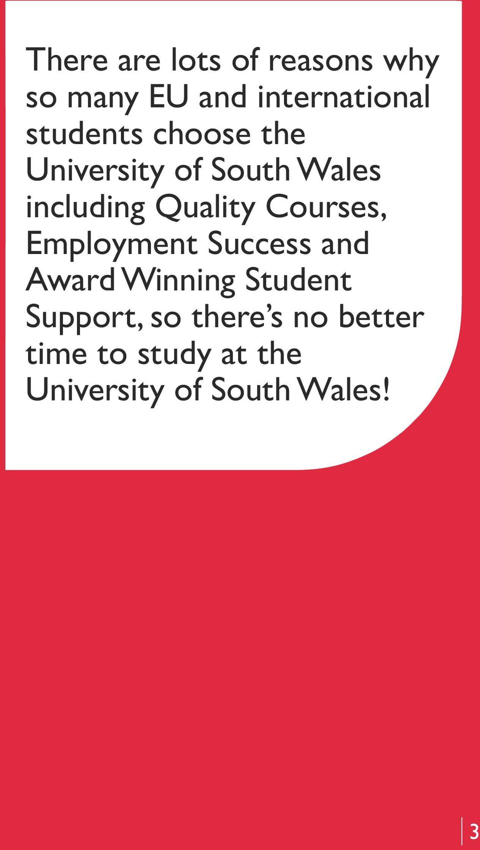 Courses, Employment Success and Award Winning Student Support,