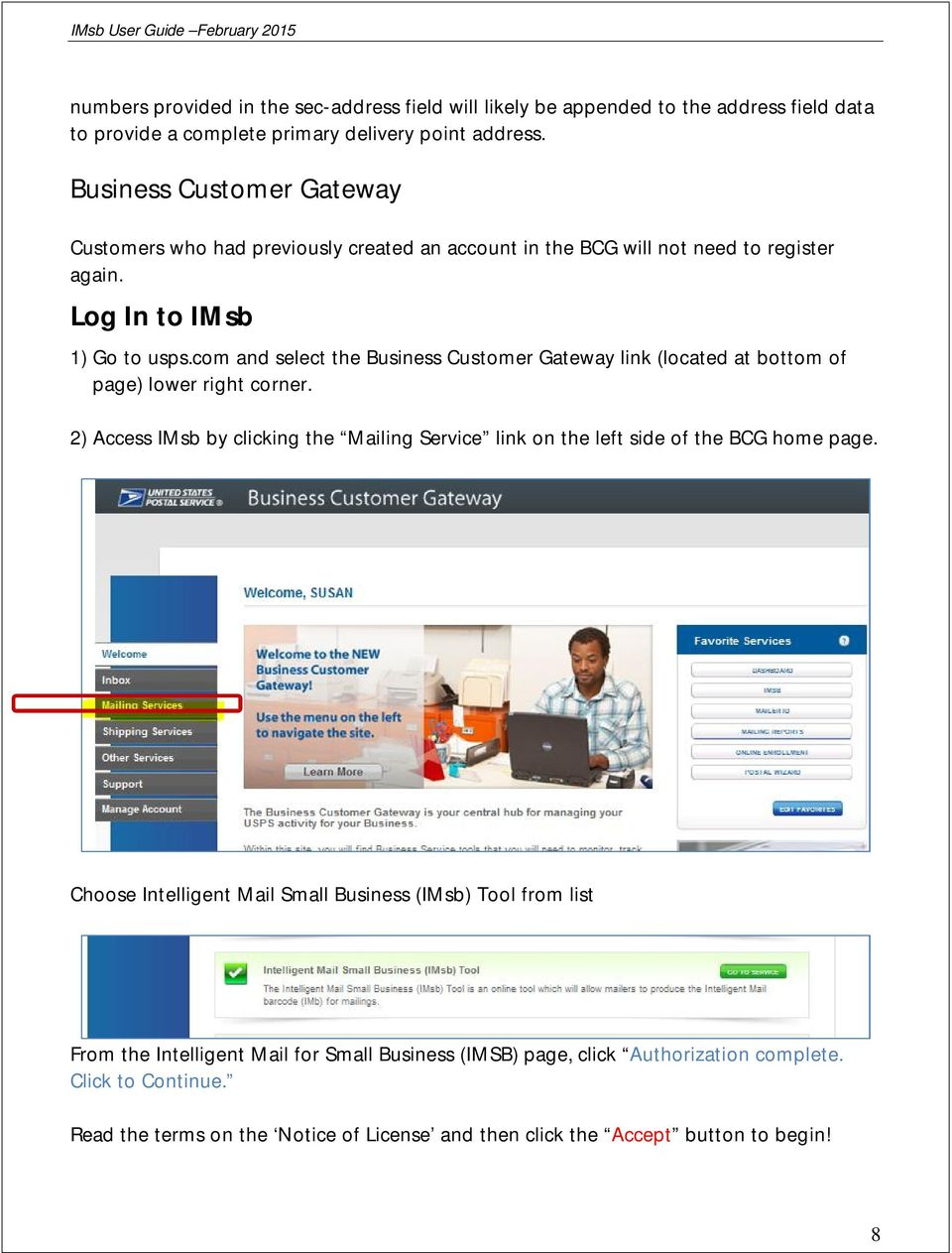 com and select the Business Customer Gateway link (located at bottom of page) lower right corner.