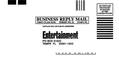 Business Reply Mail - BRM Primary hard copy response mechanism for many Direct Mail efforts Insert Cards