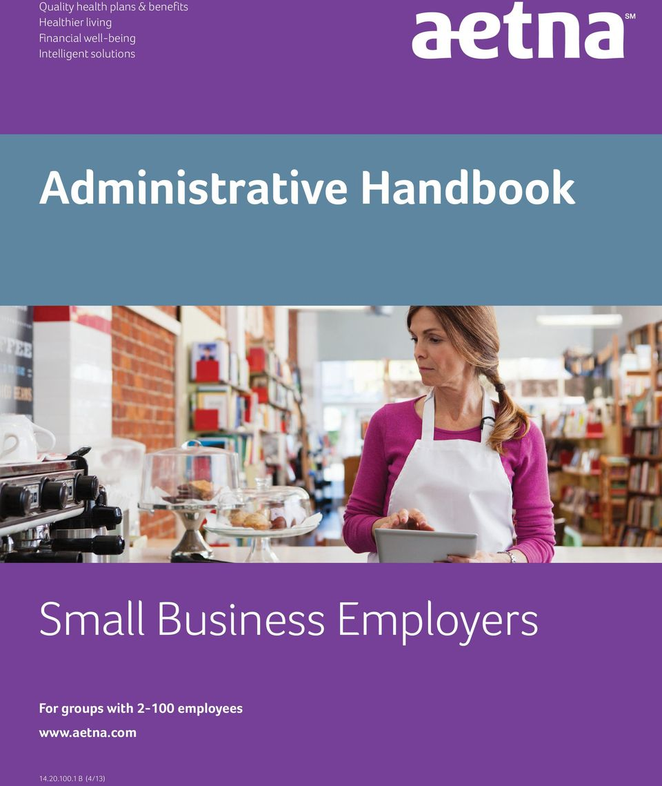 Administrative Handbook Small Business Employers