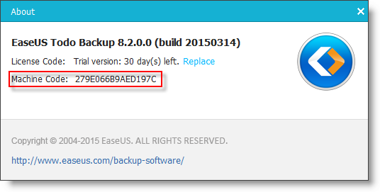 Offline activation EaseUS Todo Backup also supports offline activation for the computers which has no Internet connection. Please click here to learn the detailed steps.