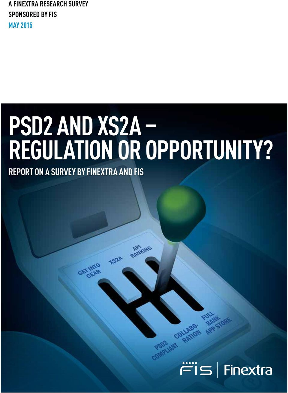 AND XS2A REGULATION OR