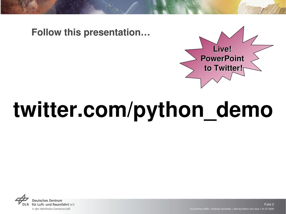 PowerPoint to Twitter!