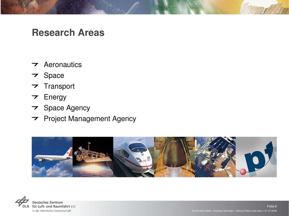 Transport Energy Space