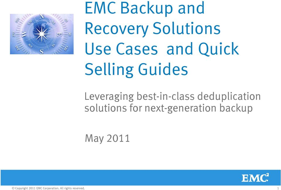 deduplication solutions for next-generation backup