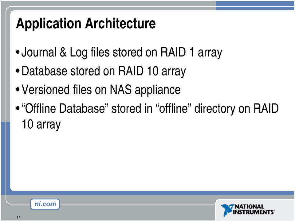 array Versioned files on NAS appliance Offline