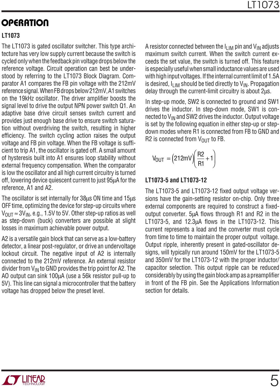 When drops below 212mV, A1 switches on the 19kHz oscillator. The driver amplifier boosts the signal level to drive the output NPN power switch Q1.