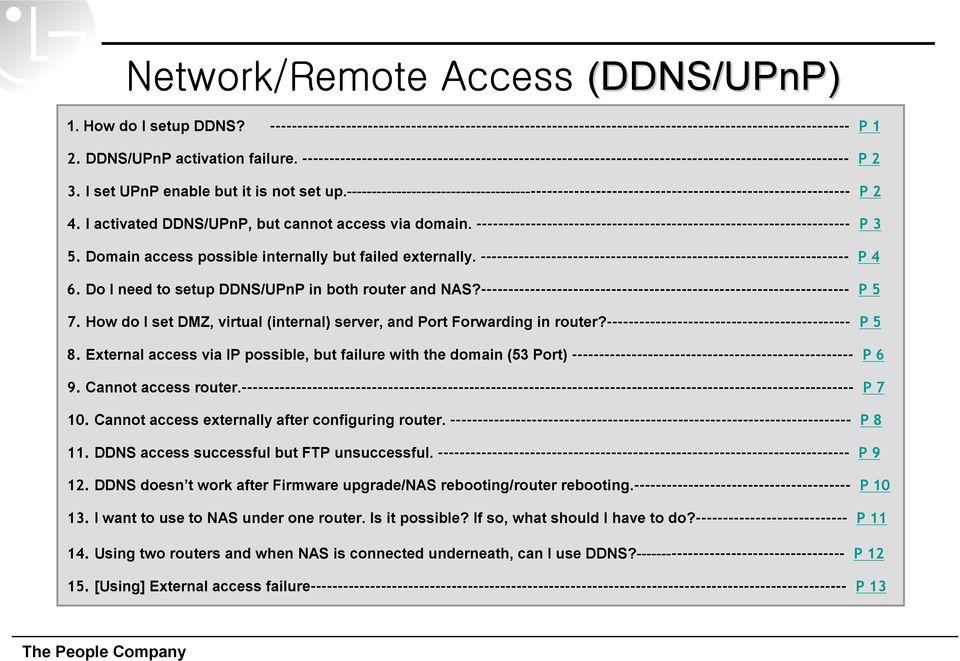 ------------------------------------------------------------------------------------------------ P 2 4. I activated DDNS/UPnP, but cannot access via domain.