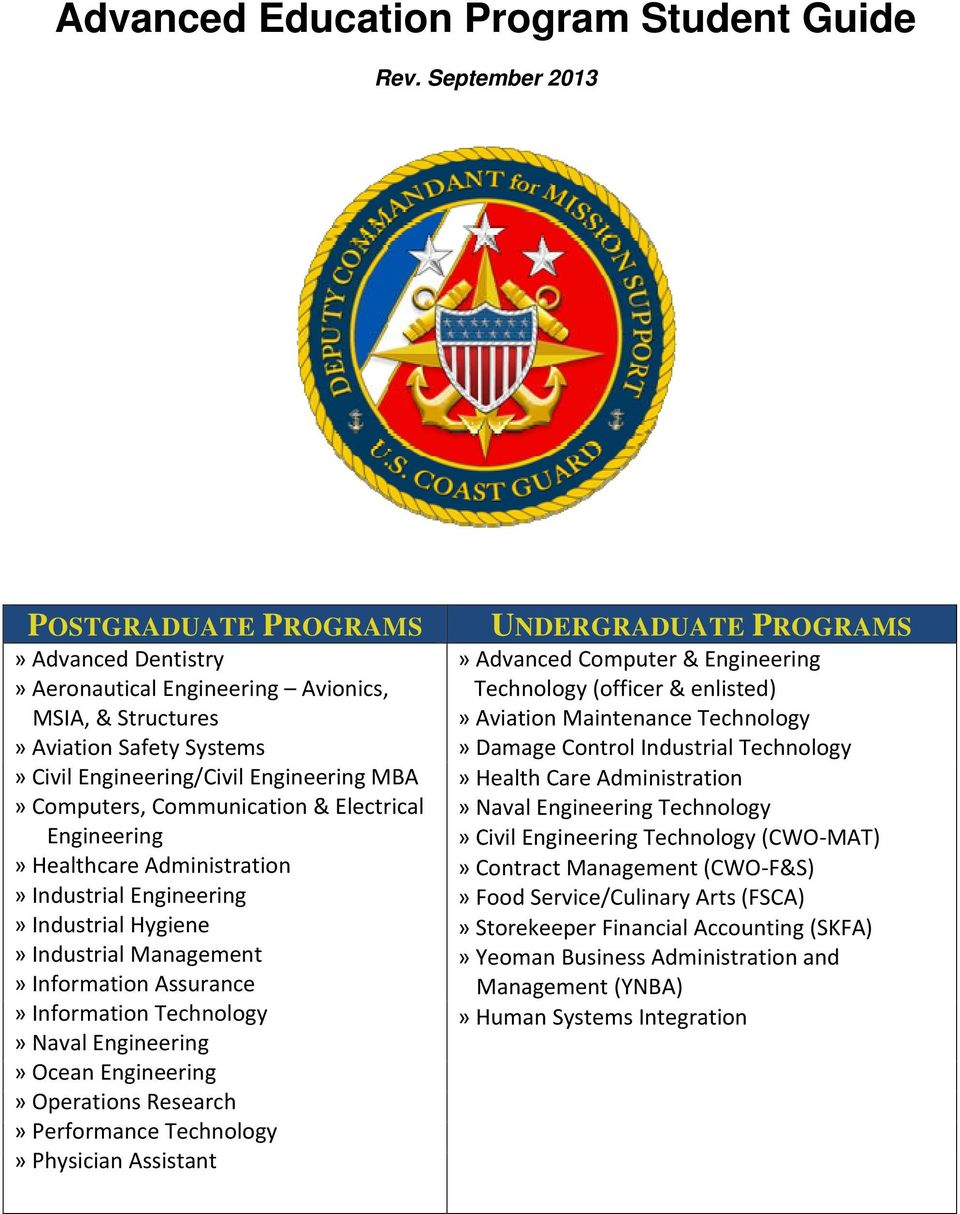 Communication & Electrical Engineering» Healthcare Administration» Industrial Engineering» Industrial Hygiene» Industrial Management» Information Assurance» Information Technology» Naval Engineering»
