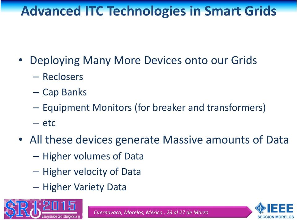 and transformers) etc All these devices generate Massive amounts of