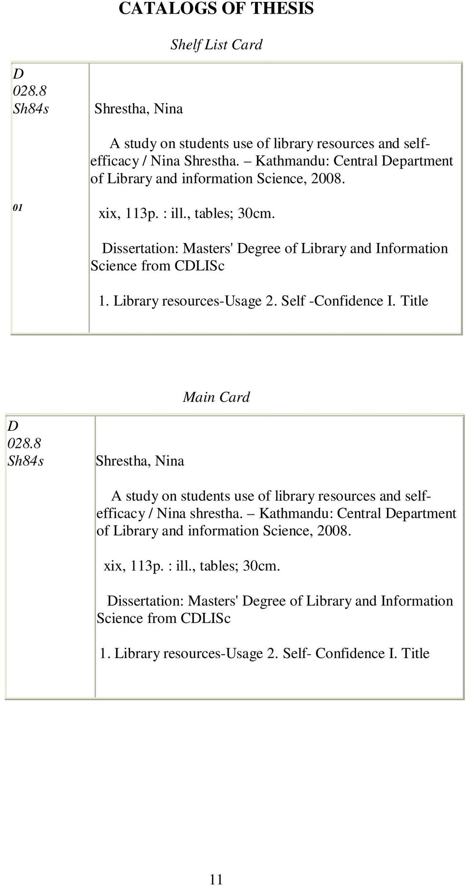 thesis about automated library system Library management system: design and implementation  a library database needs to store information pertaining to its users  library system,.