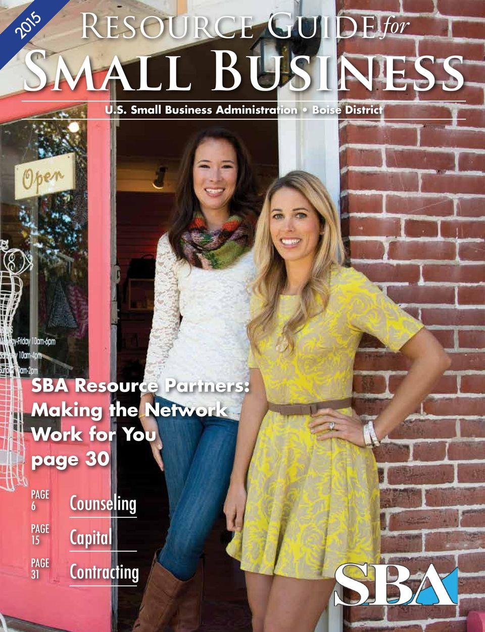 Small Business Administration Boise District SBA