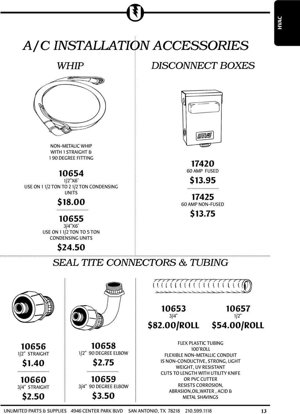 hvac table of contents pdf 00 roll 10656 1 2 straight 1 40 10660 3 4 straight 2 50 10658
