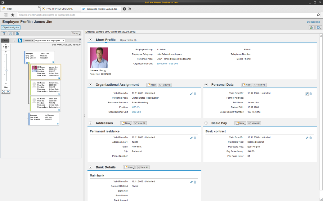 HCM as Front Runner for the SAP Business Suite The new SAP HCM leverages