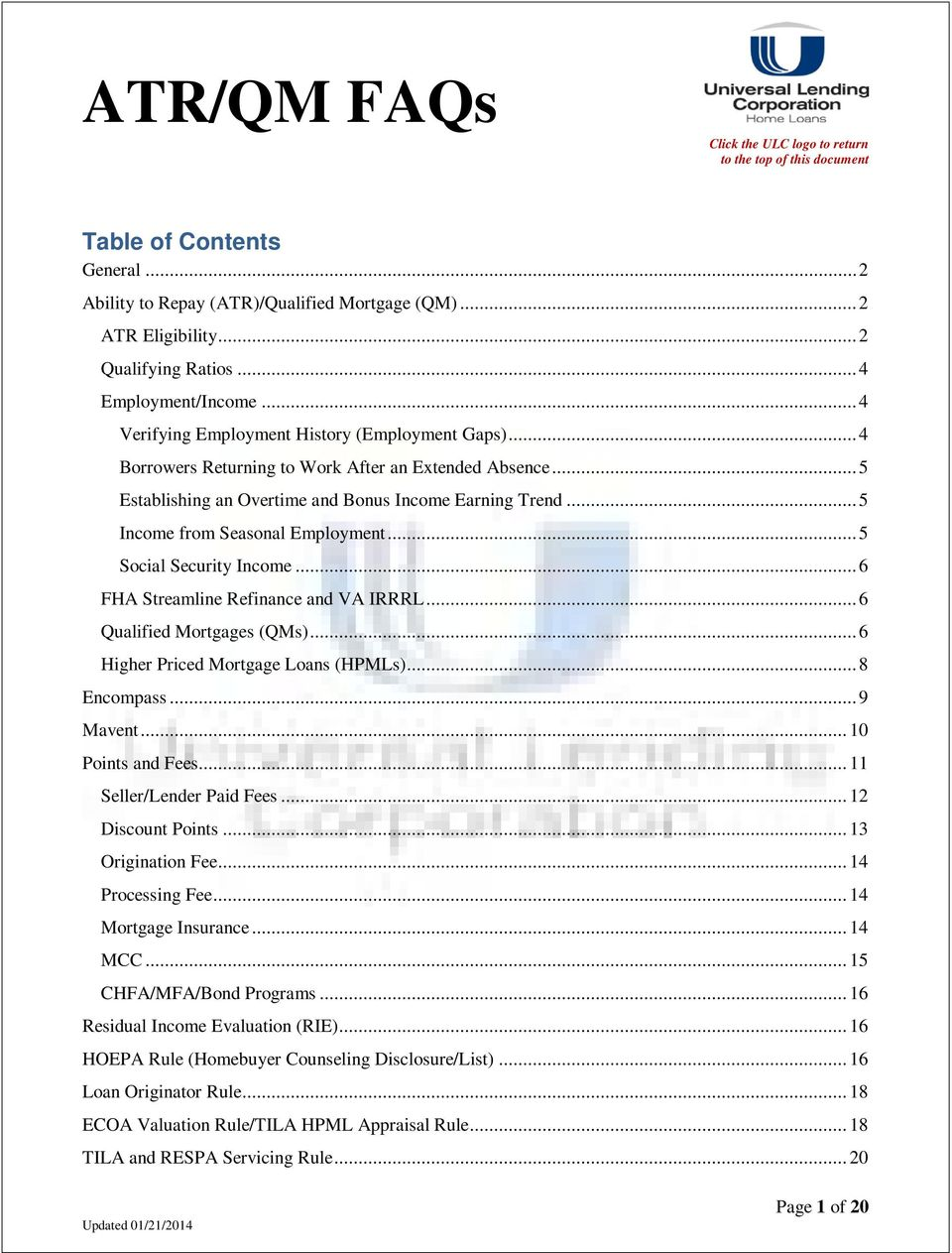 atr qm faqs table of contents pdf. Black Bedroom Furniture Sets. Home Design Ideas