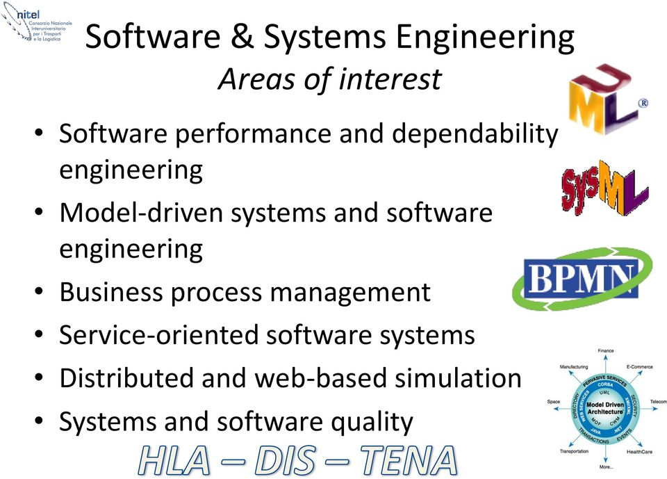 software engineering Business process management Service-oriented