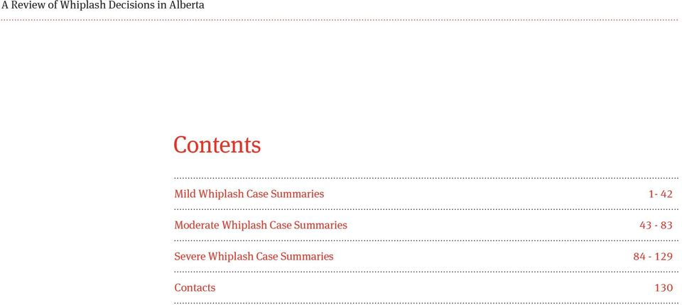 Moderate Case Summaries 43-83