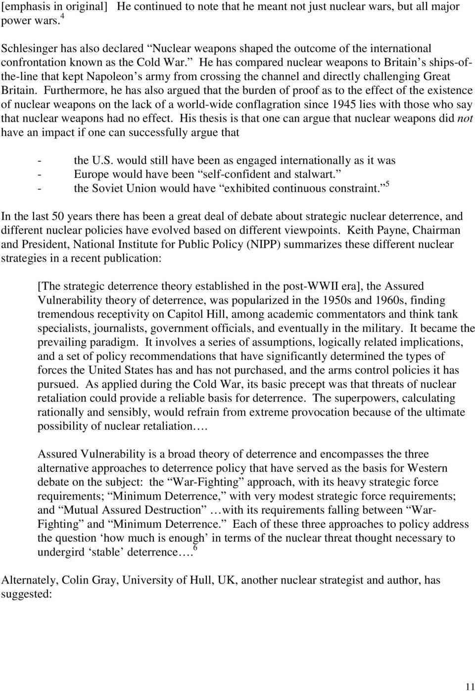 u.s nuclear weapons policy pdf