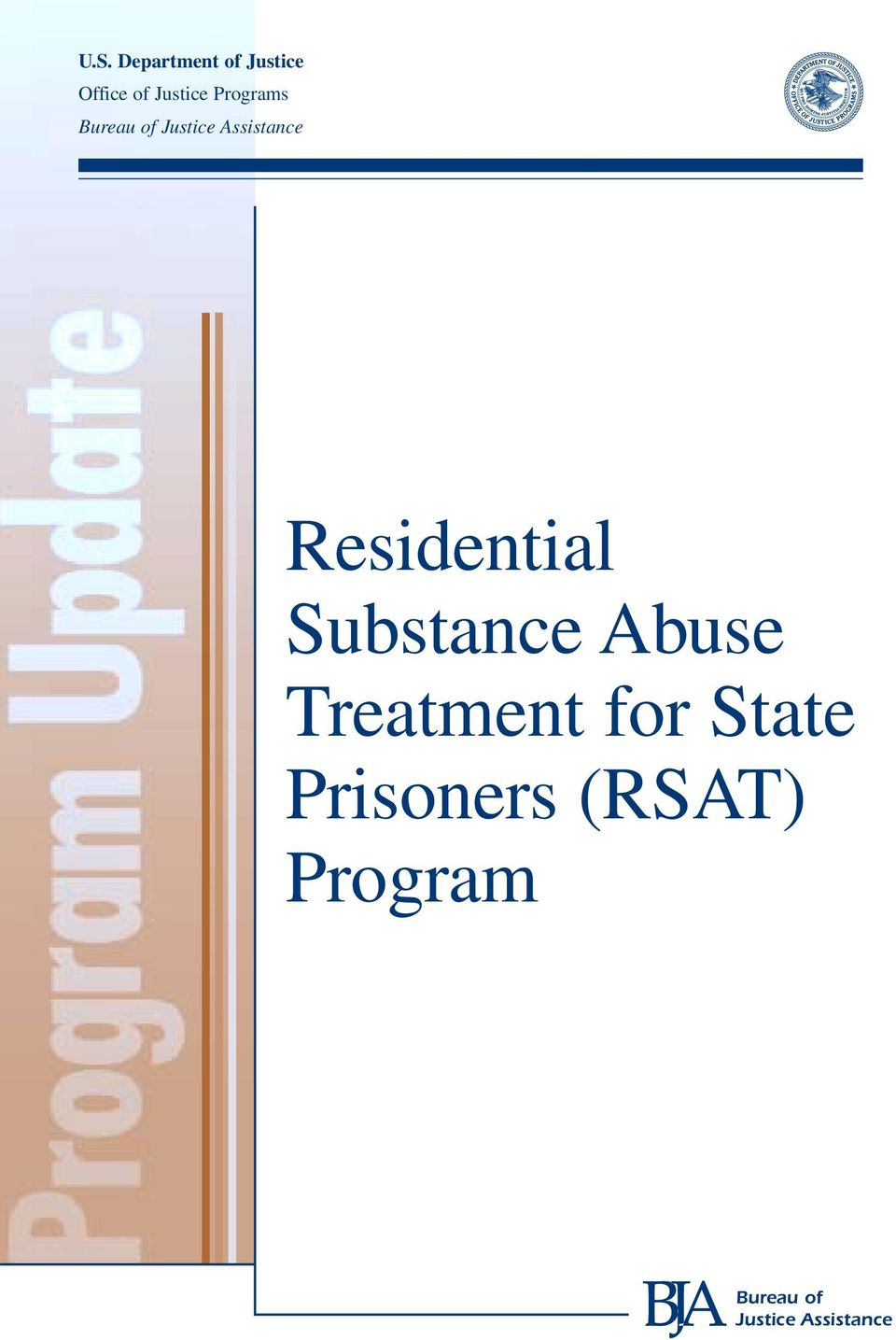 Residential Substance Abuse Treatment for