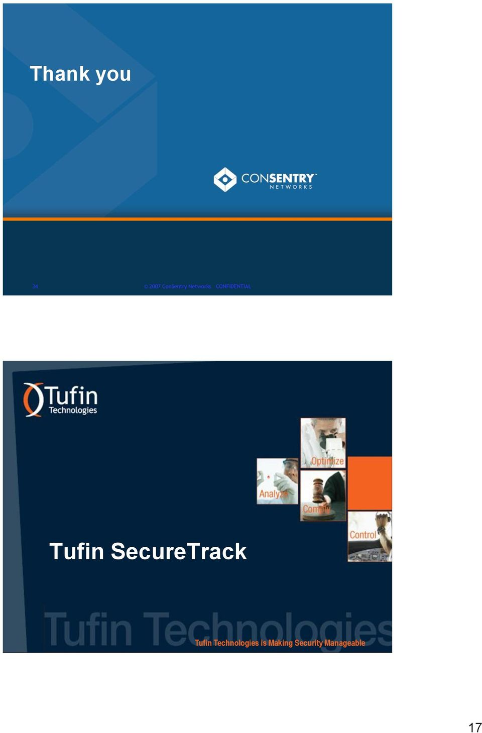 SecureTrack 35 Tufin