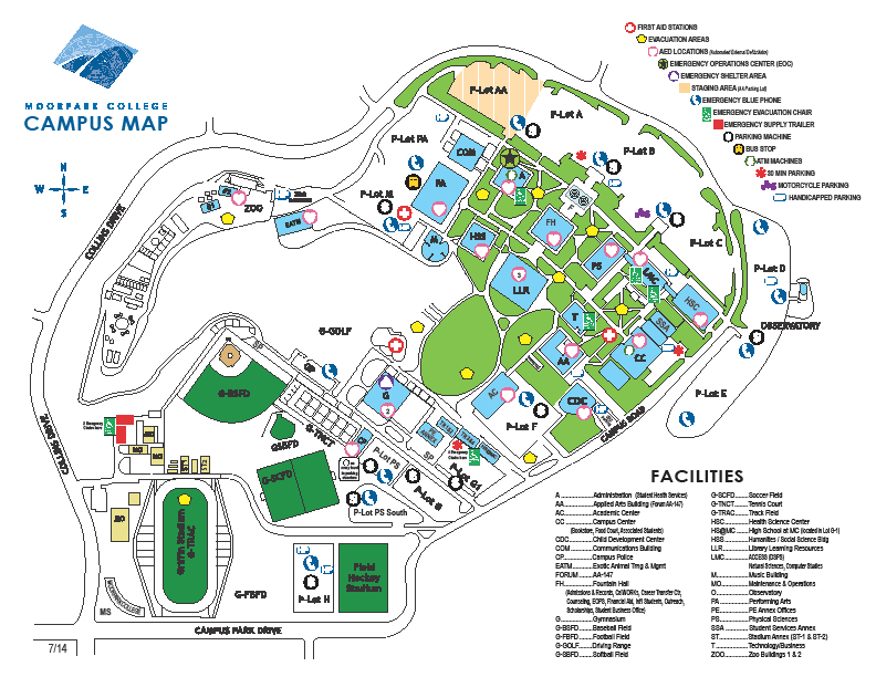 Click on link for interactive map: http://www.moorparkcollege.