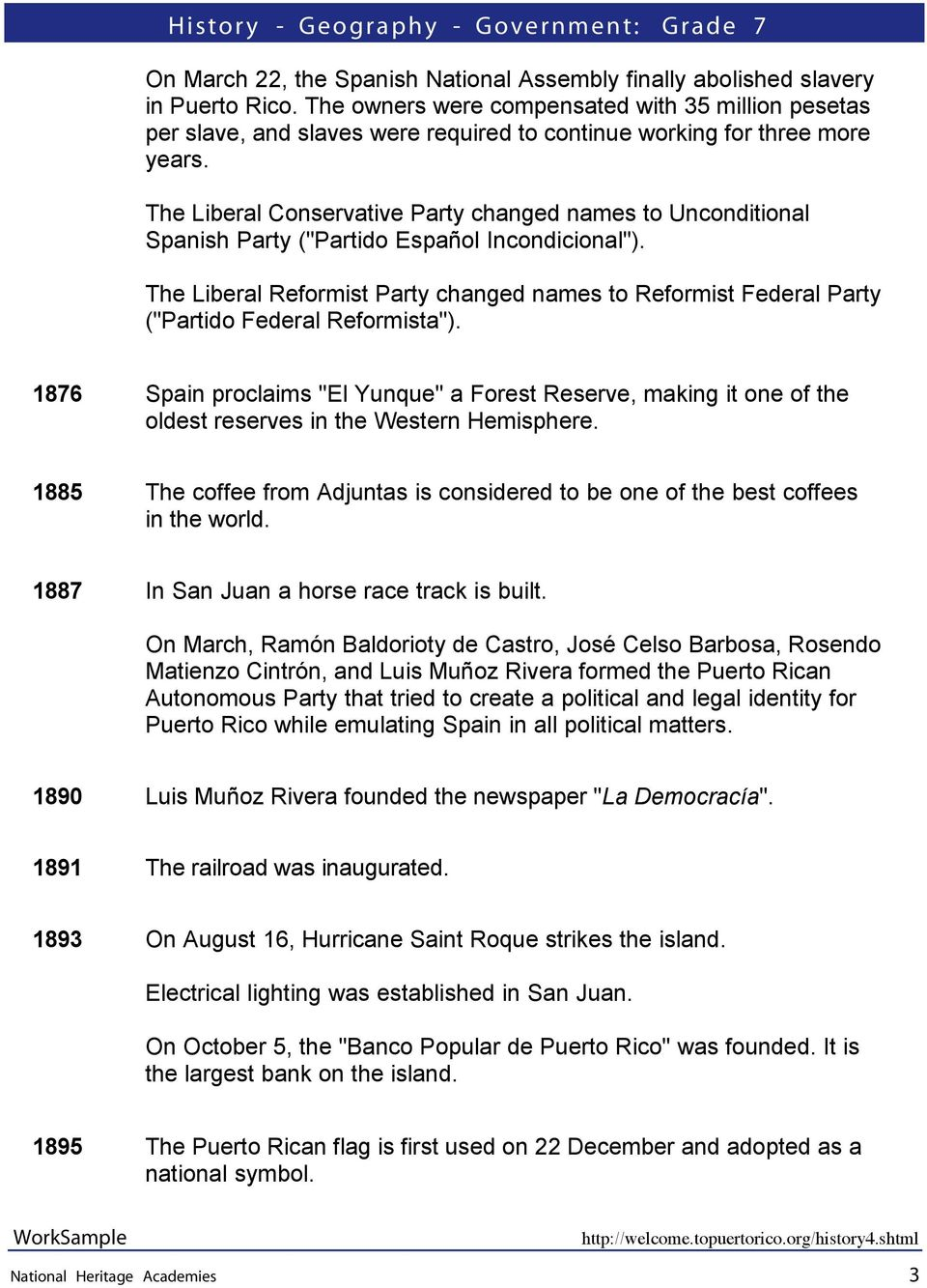 "The Liberal Conservative Party changed names to Unconditional Spanish Party (""Partido Español Incondicional"")."