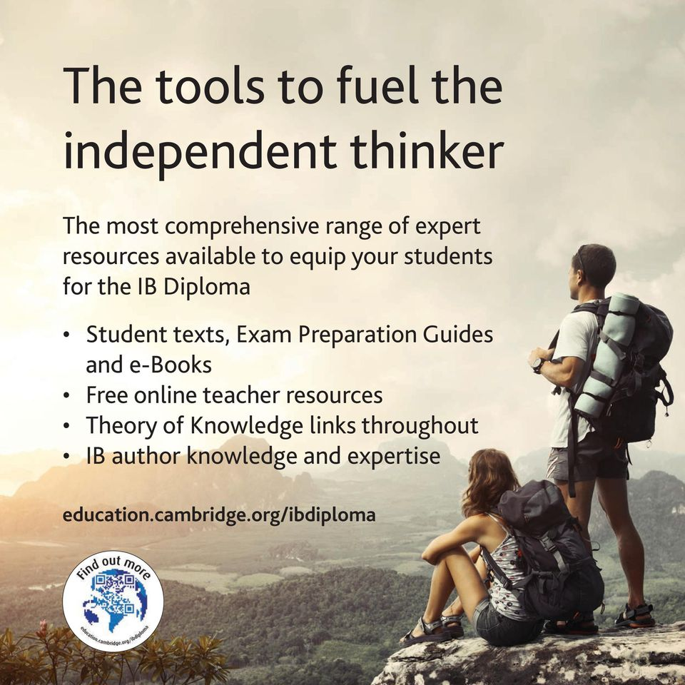 Preparation Guides and e-books Free online teacher resources Theory of Knowledge