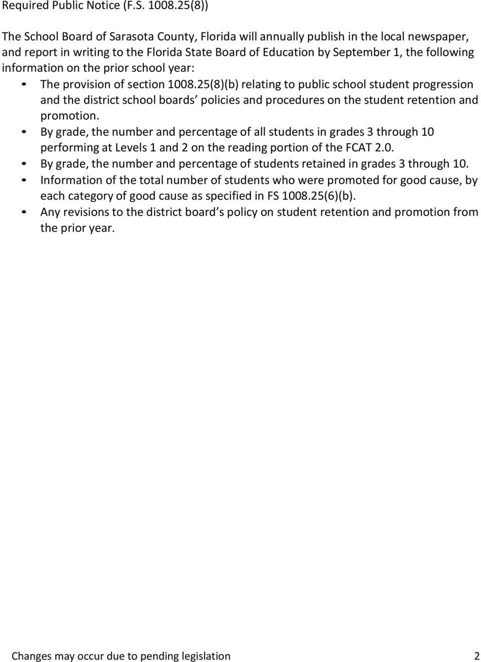 information on the prior school year: The provision of section 1008.