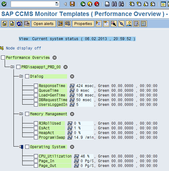 8.1 SAP Cmputer Center Management System Mnitring Business Critical Applicatins with SAP has a mnitring cmpnent called Cmputer Center Management System (CCMS), which prvides a range f mnitrs fr