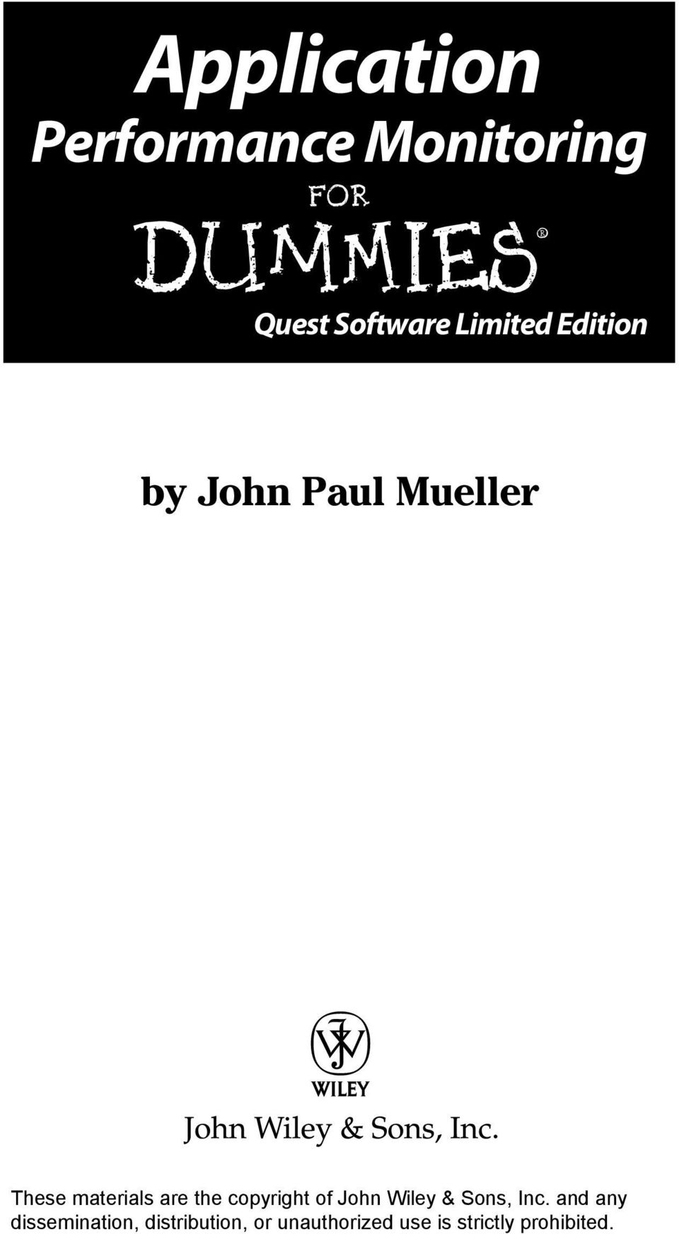 Quest Software Limited