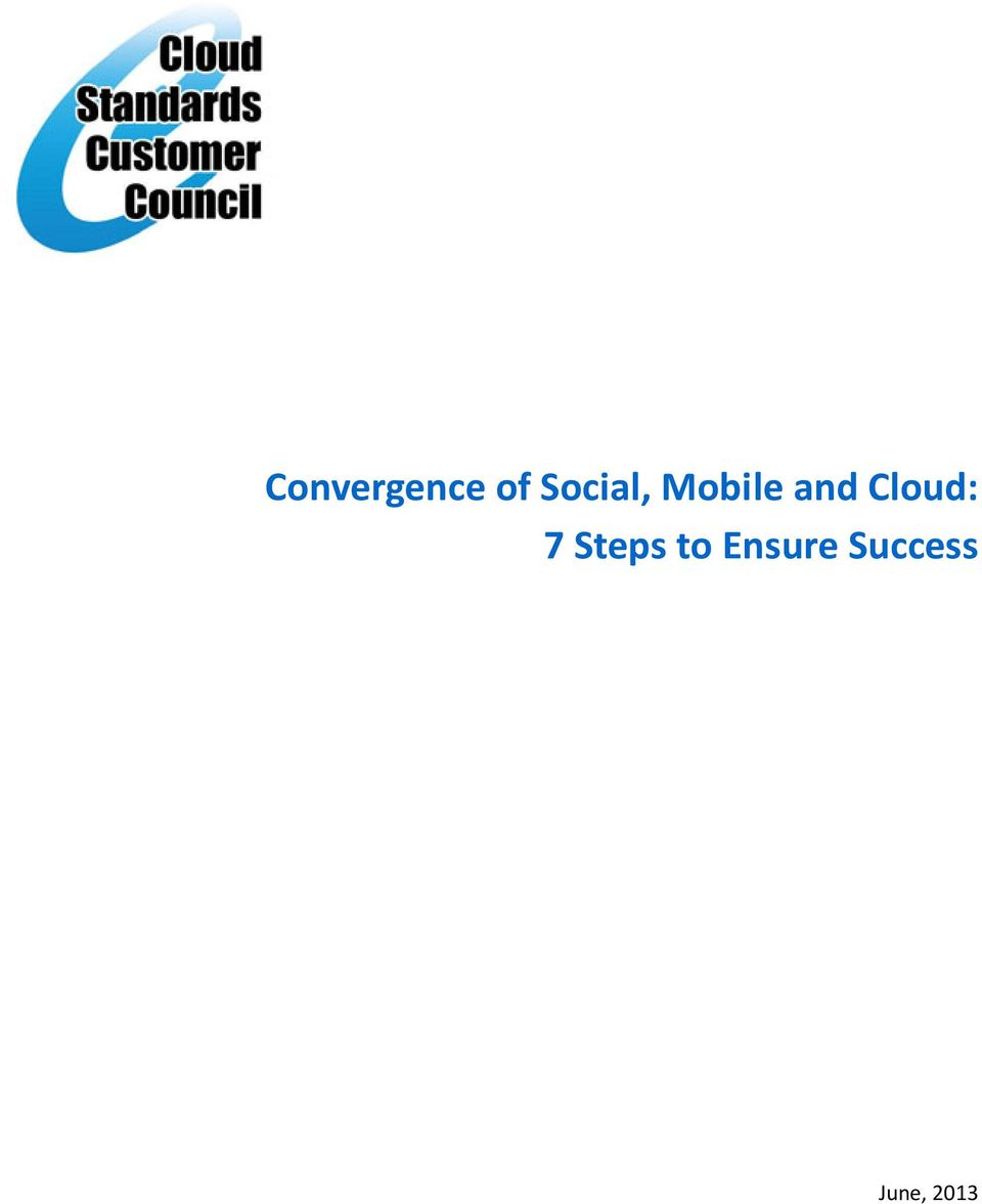 Cloud: 7 Steps to