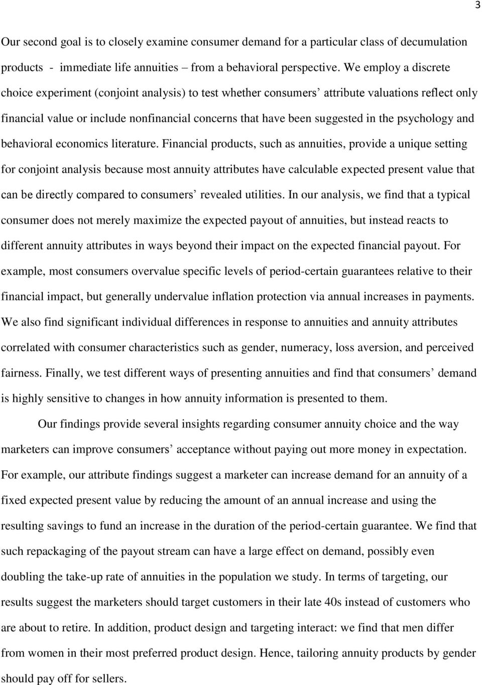 psychology and behavioral economics literature.