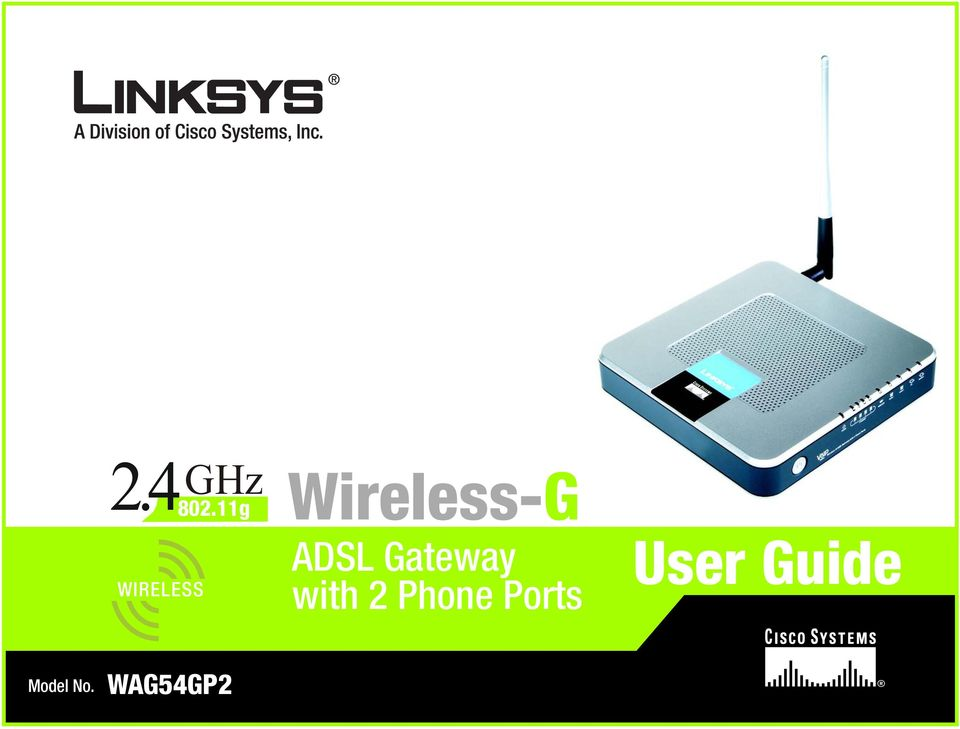 ADSL Gateway with 2