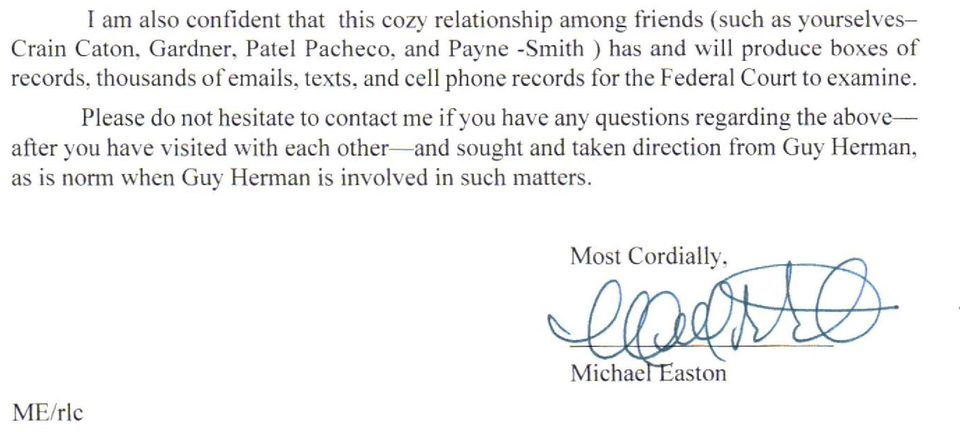 and cell phone records for the Federal Court to examine.