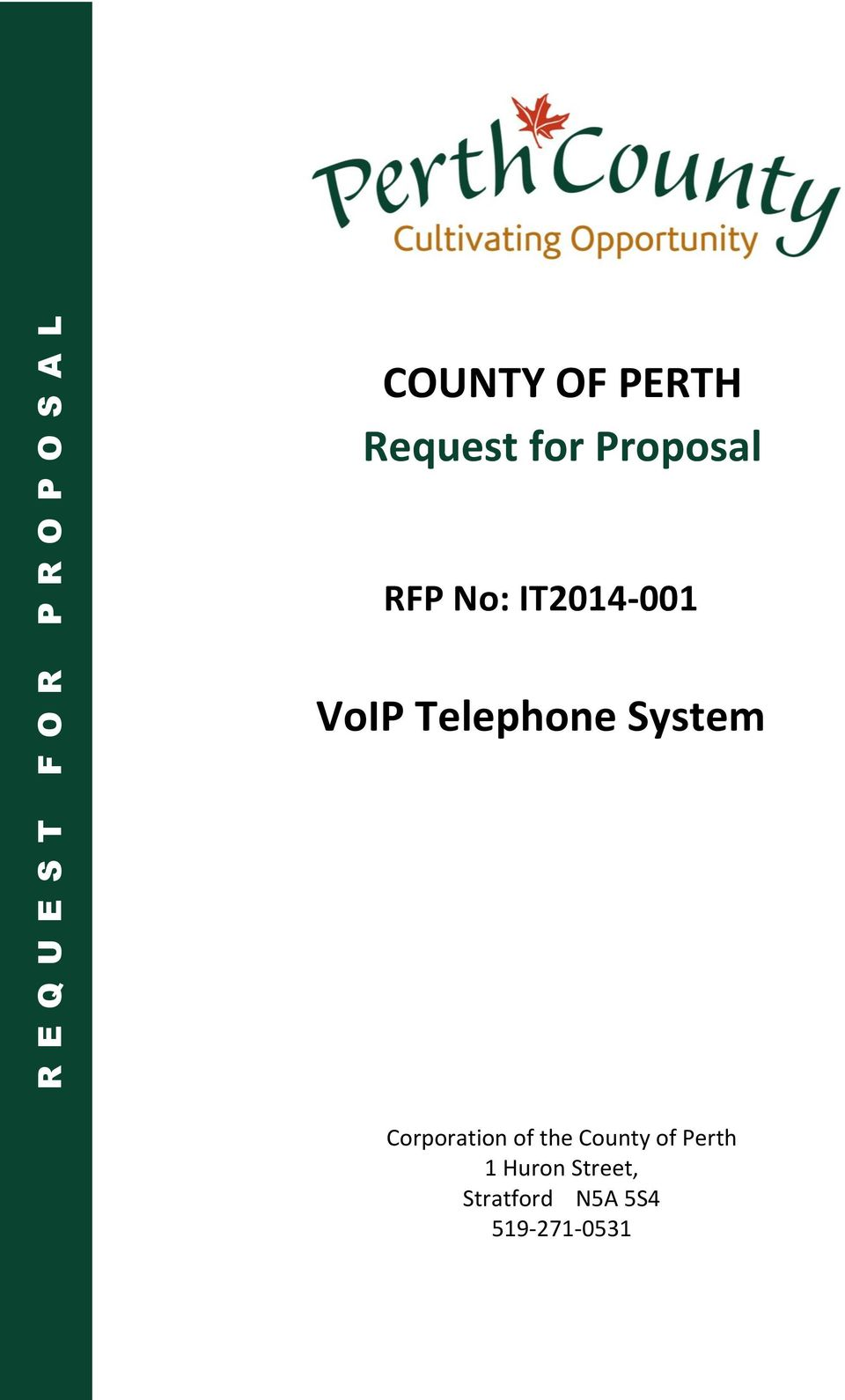VoIP Telephone System Corporation of the County