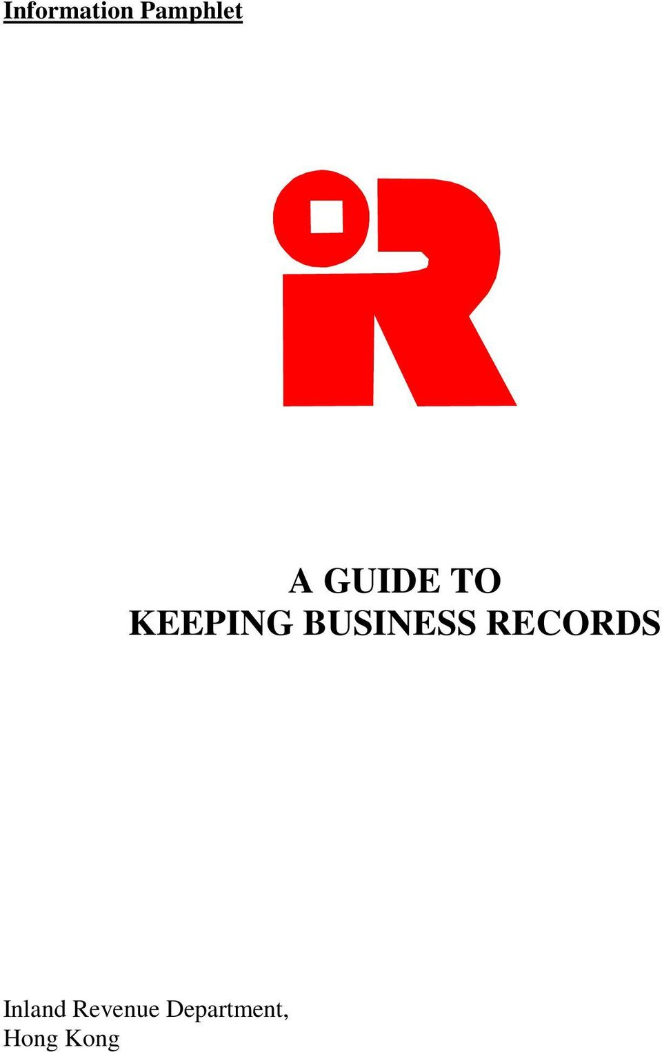 BUSINESS RECORDS Inland