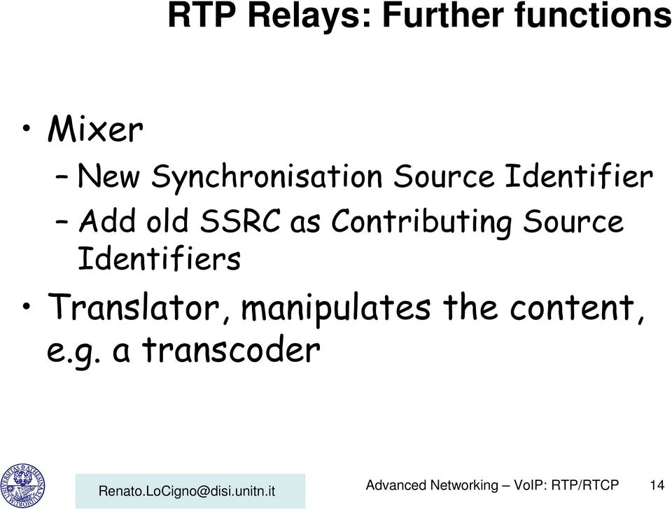 Contributing Source Identifiers Translator,