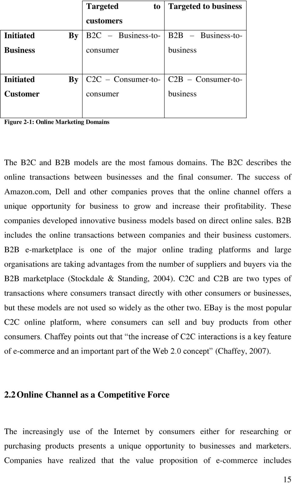 com, Dell and other companies proves that the online channel offers a unique opportunity for business to grow and increase their profitability.