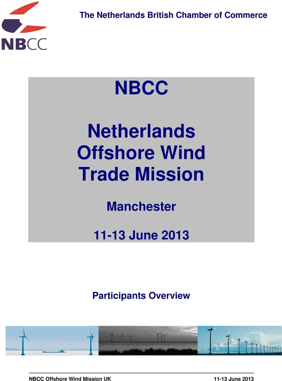 Wind Trade Mission Manchester