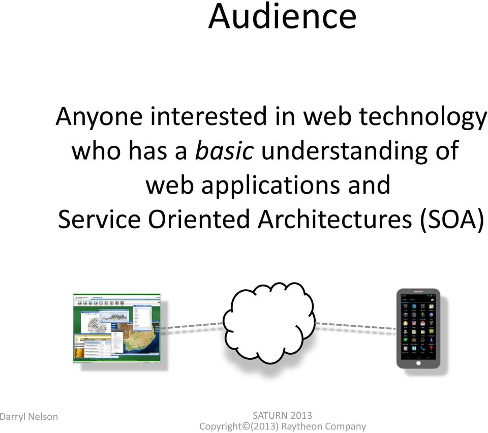 of web applications and Service Oriented