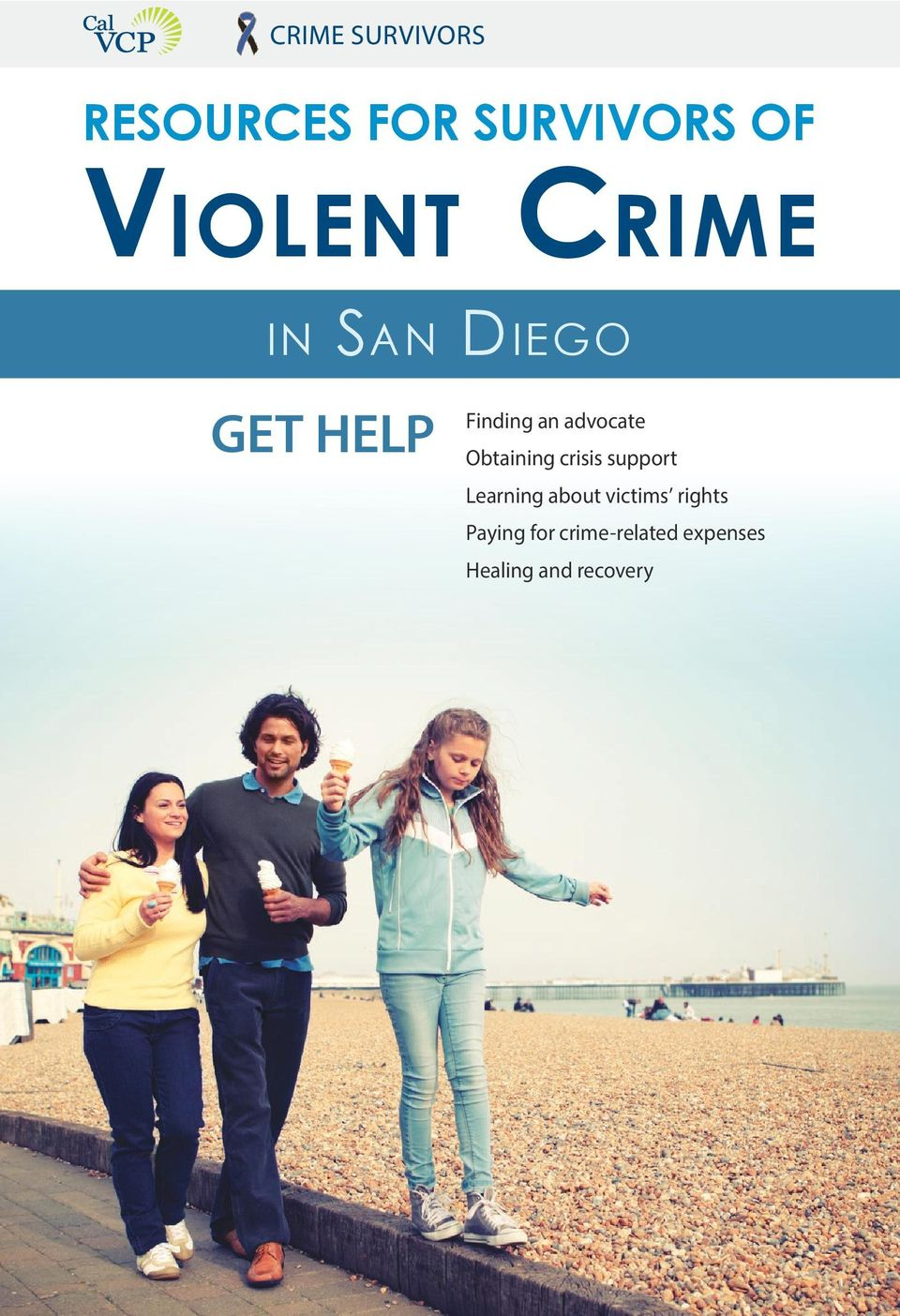 Obtaining crisis support Learning about victims