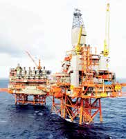 This field contains about 40 percent of total gas reserves on the Norwegian continental shelf, and is the cornerstone of Norway s offshore gas production.