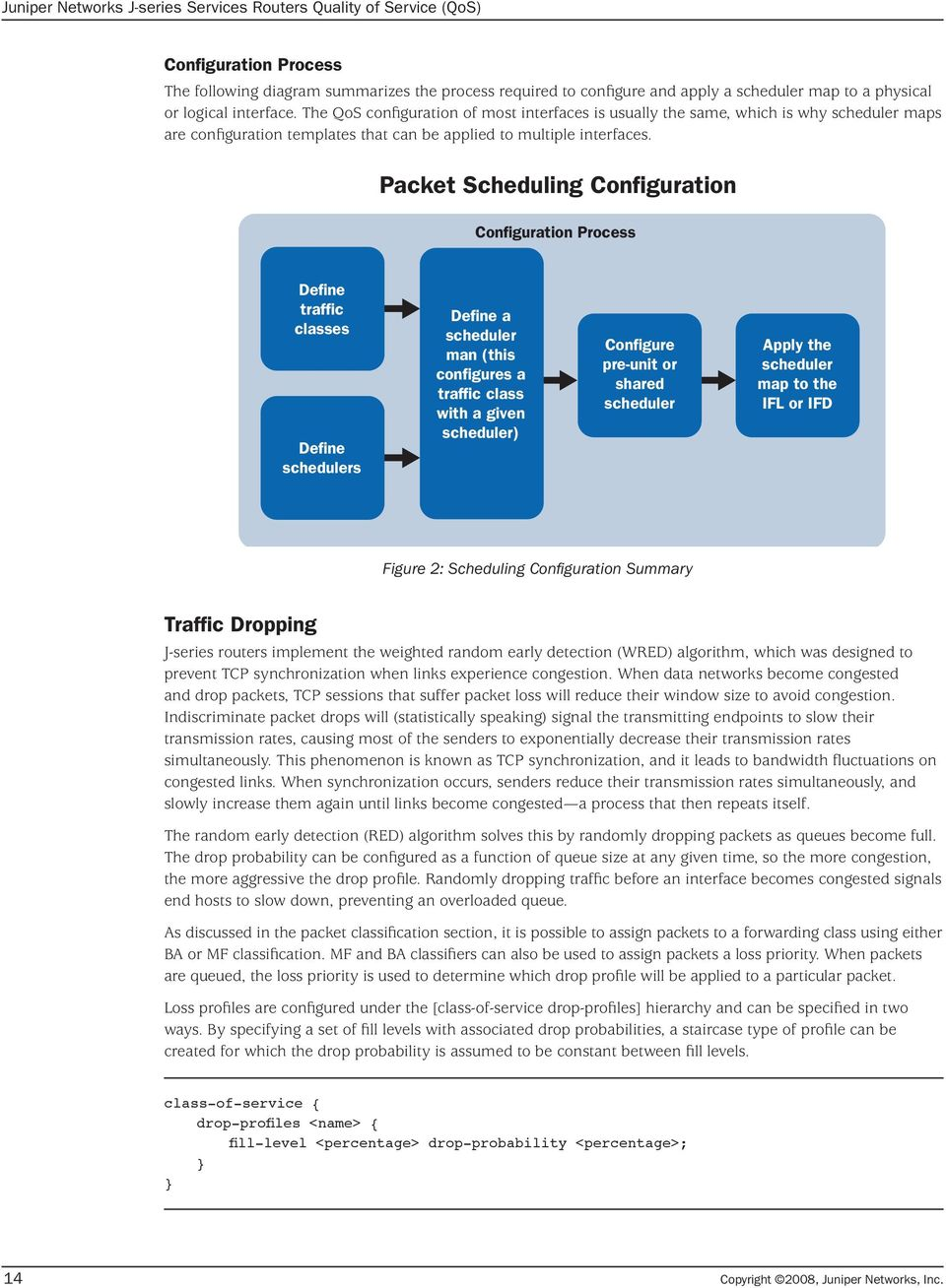 Juniper Networks J-series Services Routers Quality of