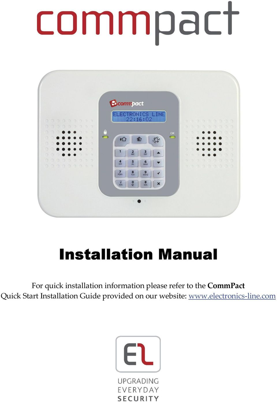 the CommPact Quick Start Installation